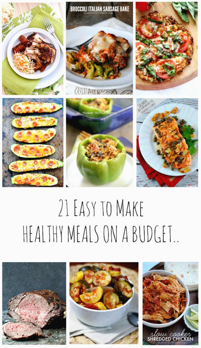 14 Easy to make Healthy Meals on a Budget - recipes on a budget healthy