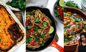 14 EPIC EASY VEGAN MEALS #veganuary – Recipes That Can Be Vegetarian Or Meat
