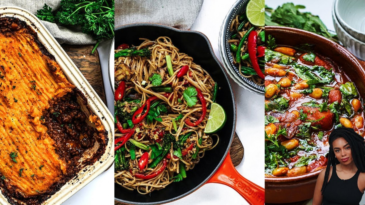 14 EPIC EASY VEGAN MEALS #veganuary - Recipes That Can Be Vegetarian Or Meat
