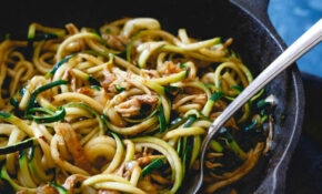 14 Game Changing, Healthy Zoodles (Zucchini Noodles) Recipes – Healthy Zoodle Recipes With Chicken
