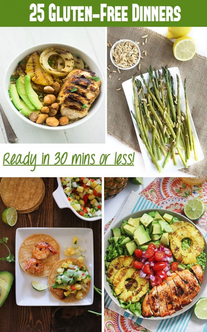 14 Gluten-Free Dinner Recipes in Under 14 Minutes - The ..