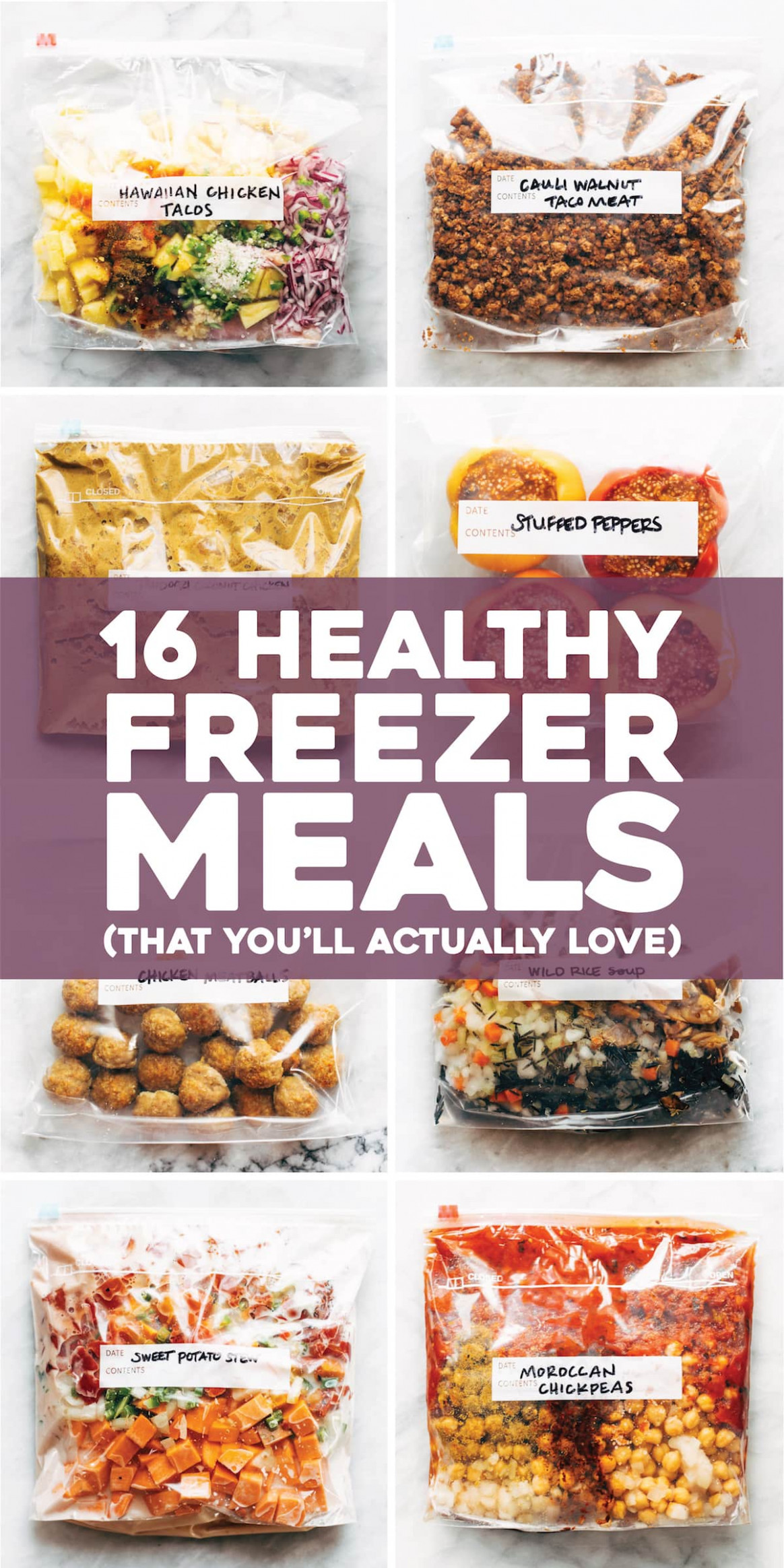 14 Healthy Freezer Meals (That You'll Actually Love) - Pinch ..
