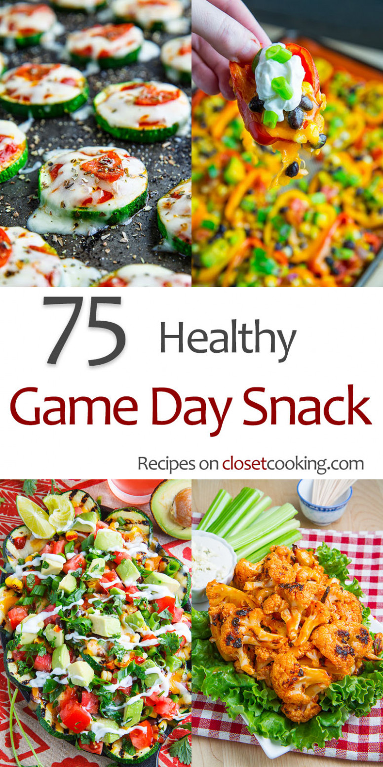 14 Healthy Game Day Snacks - Closet Cooking - recipes healthy snacks