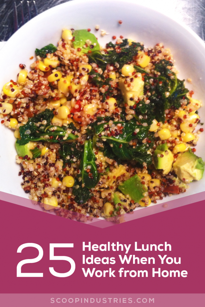 14 Healthy Lunch Ideas When You Work from Home - Scoop ..