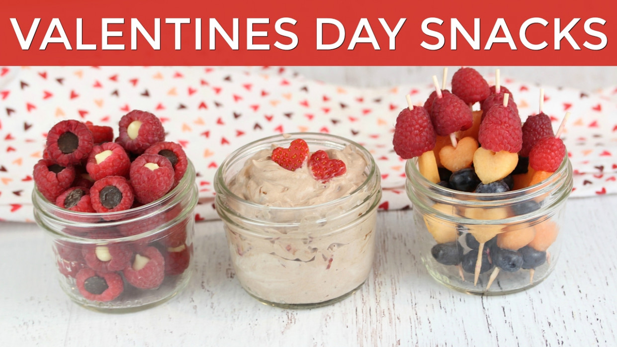 14 Healthy Valentine's Snack Ideas | Valentine's Recipes - Recipes Of Healthy Snacks