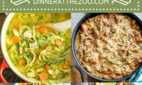 14 Healthy Zoodle (Zucchini Noodle) Recipes – Dinner At The Zoo – Vegetarian Recipes Zoodles