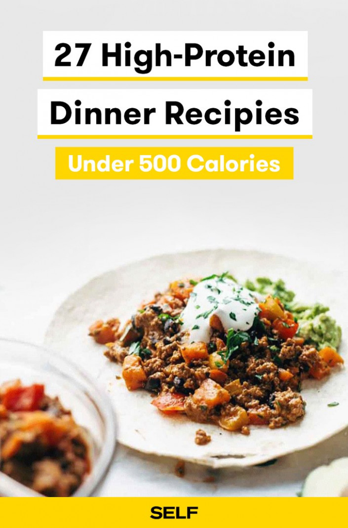 14 High-Protein Dinner Recipes Under 14 Calories | SELF - recipes dinner under 400 calories
