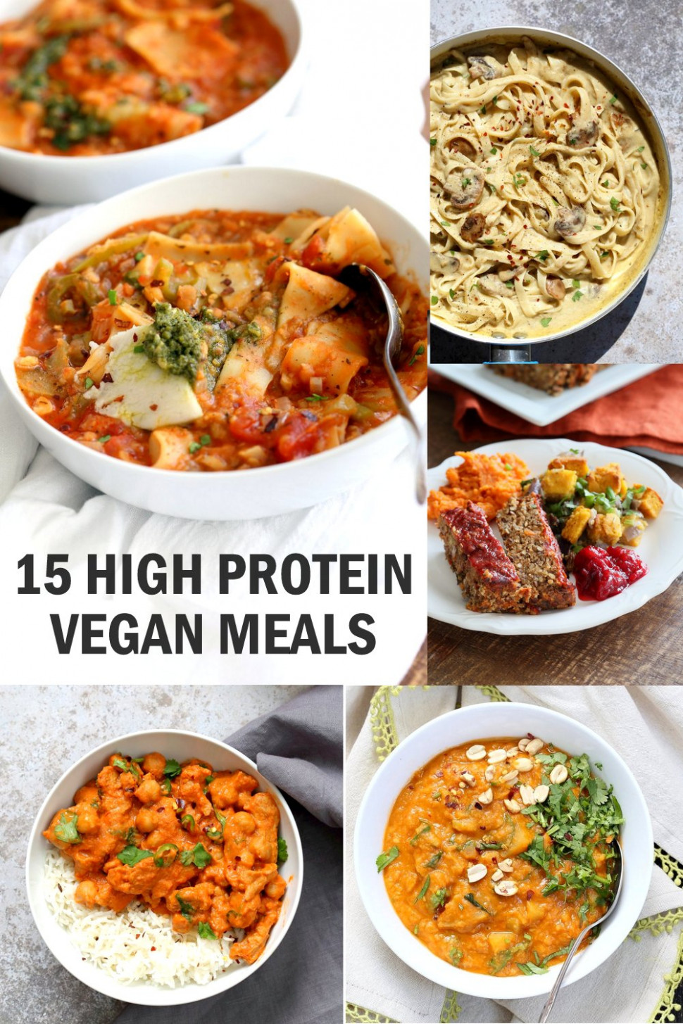14 High Protein Vegan Meals - Vegan Richa - indian recipes dinner vegetarian
