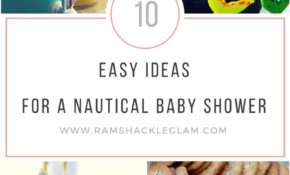 14 Ideas For A Nautical Themed Baby Shower – Ramshackle Glam – Ocean Themed Food Recipes