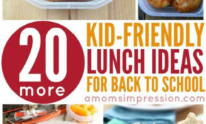 14 Kid Friendly Lunches | Back To School/last Day Of School ..