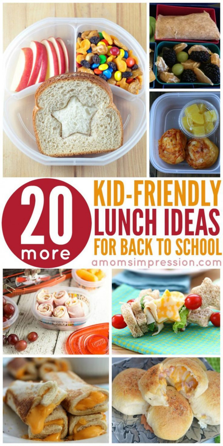 14 Kid-Friendly Lunches | Back to school/last day of school ..