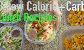 14 Low Calorie And Low Carb Lunch Recipes – Low Calorie Food Recipes