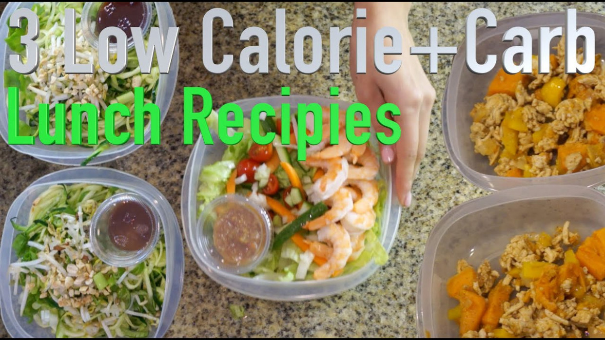 14 Low Calorie and Low Carb Lunch Recipes - low calorie food recipes
