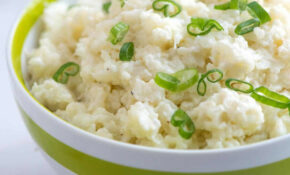 14 Minute Mashed Cauliflower – Healthy Recipes Cauliflower