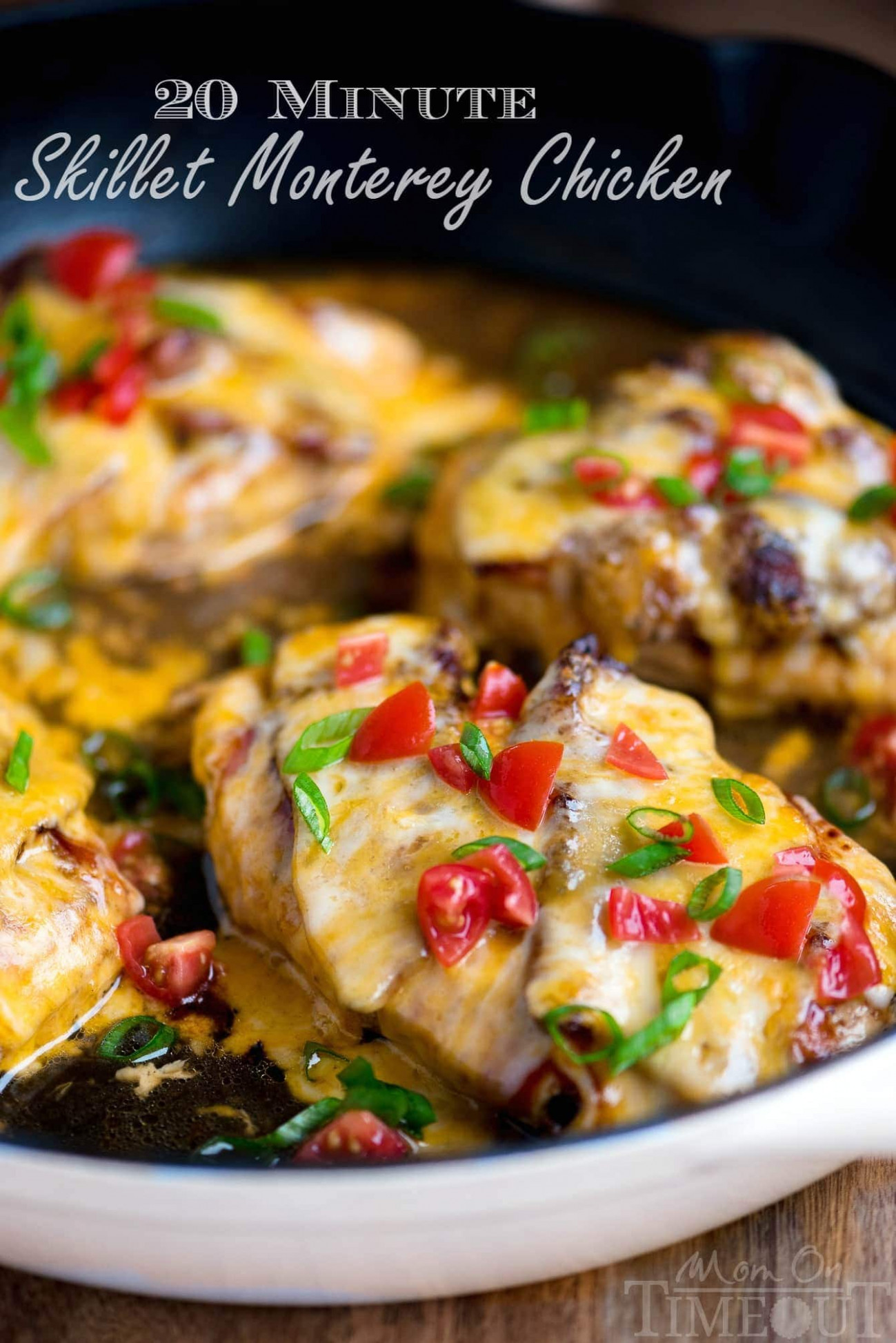 14 Minute Skillet Monterey Chicken - valerie bertinelli recipes chicken thighs