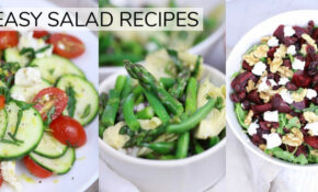 14 *NEW* EASY HEALTHY SALAD RECIPES | Clean Eating Recipes – Healthy Steps Nutrition Recipes