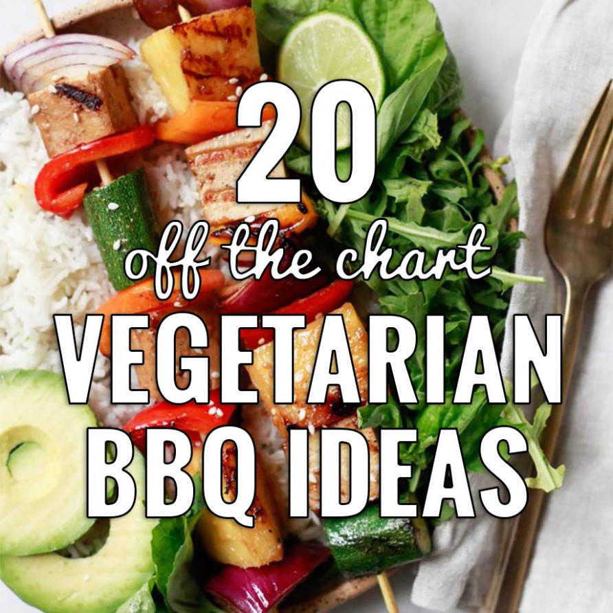 14 Off the Chart Vegetarian BBQ Ideas | grilling done right - gourmet vegetarian recipes