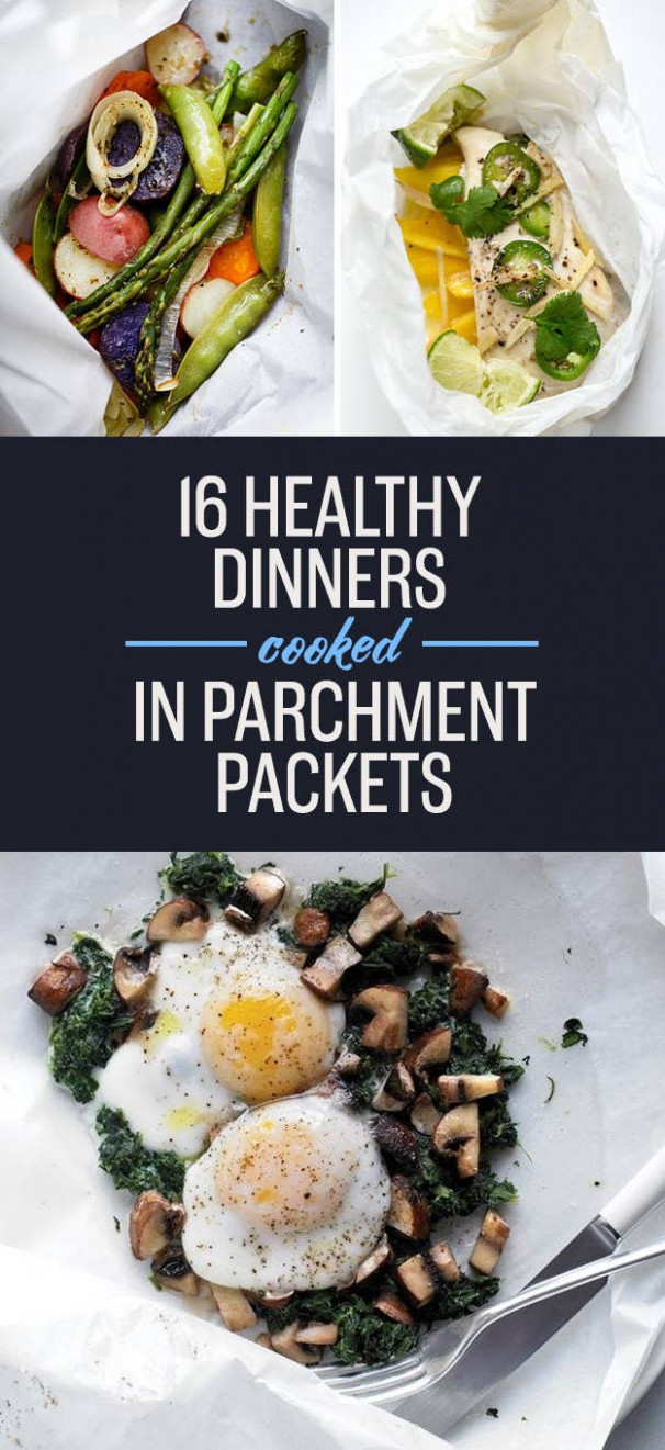 14 Parchment-Wrapped Dinners For People Who Hate Dishes - healthy recipes buzzfeed
