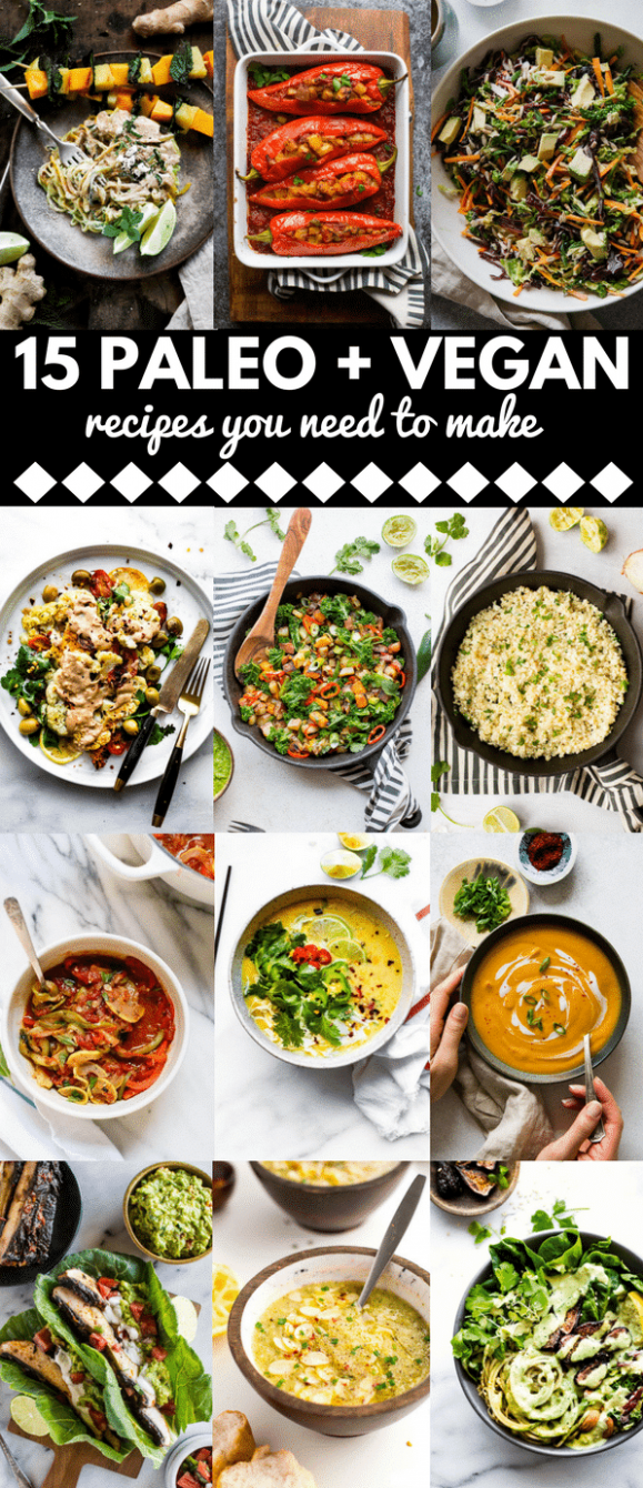 14 Savoury Vegan + Paleo Diet Recipes You Need to Make - A ..
