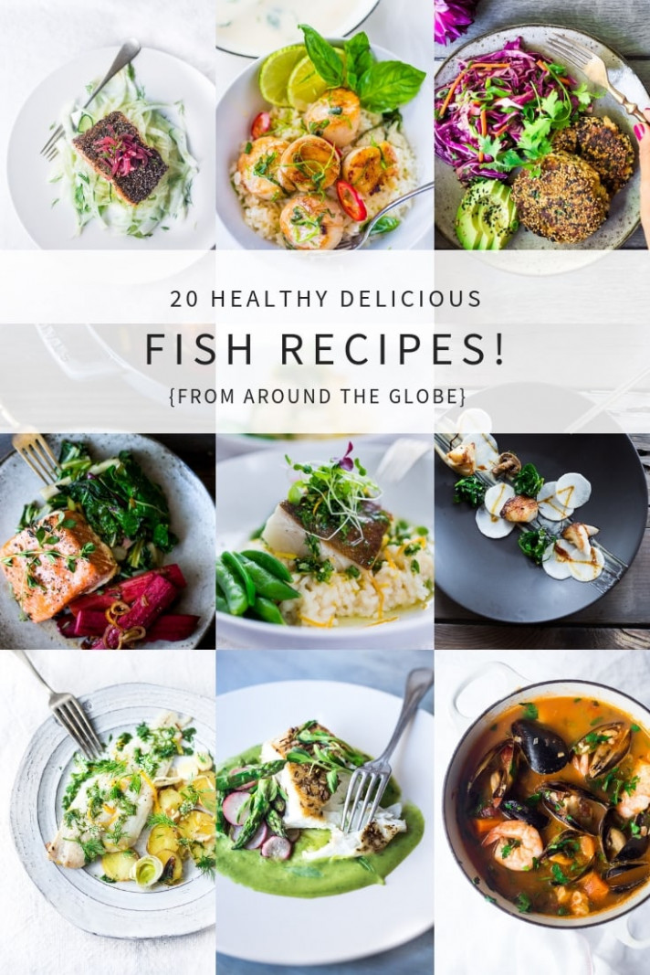 14 Simple Healthy Fish & Seafood Recipes | Feasting At Home - healthy recipes quick and cheap