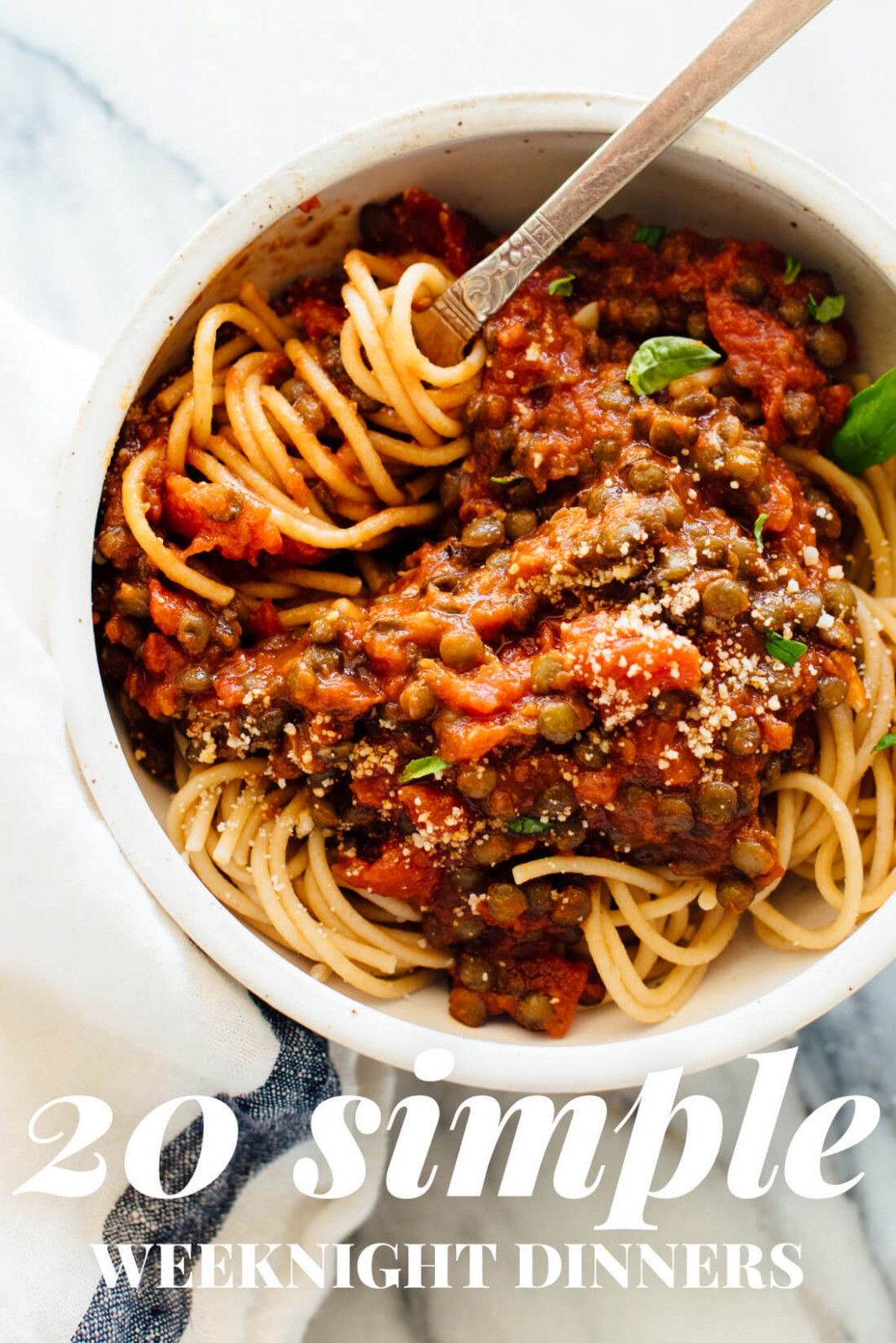 14 Simple Vegetarian Dinner Recipes - Cookie and Kate - easy pasta recipes vegetarian