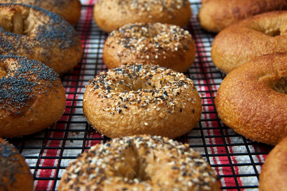 142/365 - Bagels, Redux - food recipes you can freeze