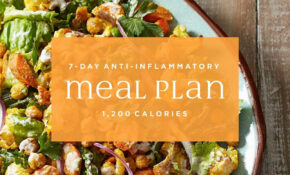 144 Day Anti Inflammatory Diet Meal Plan: 14,14 Calories ..