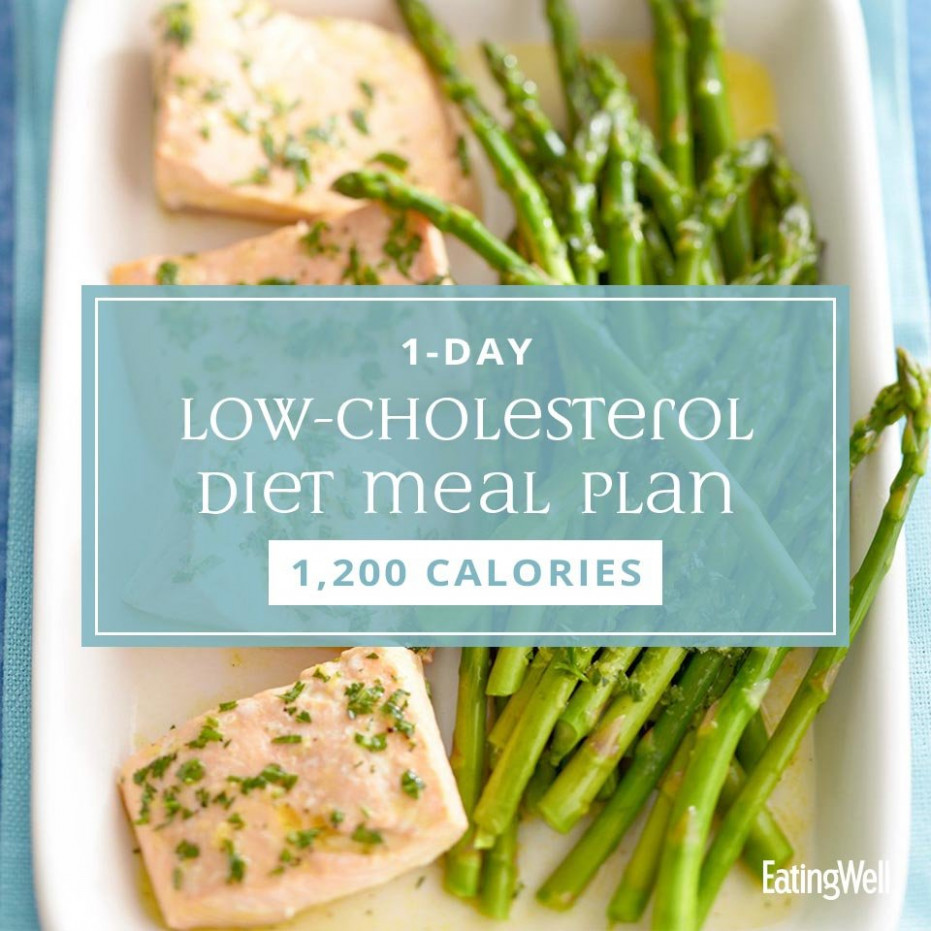 144-Day Low-Cholesterol Diet Meal Plan: 144,14 Calories ..