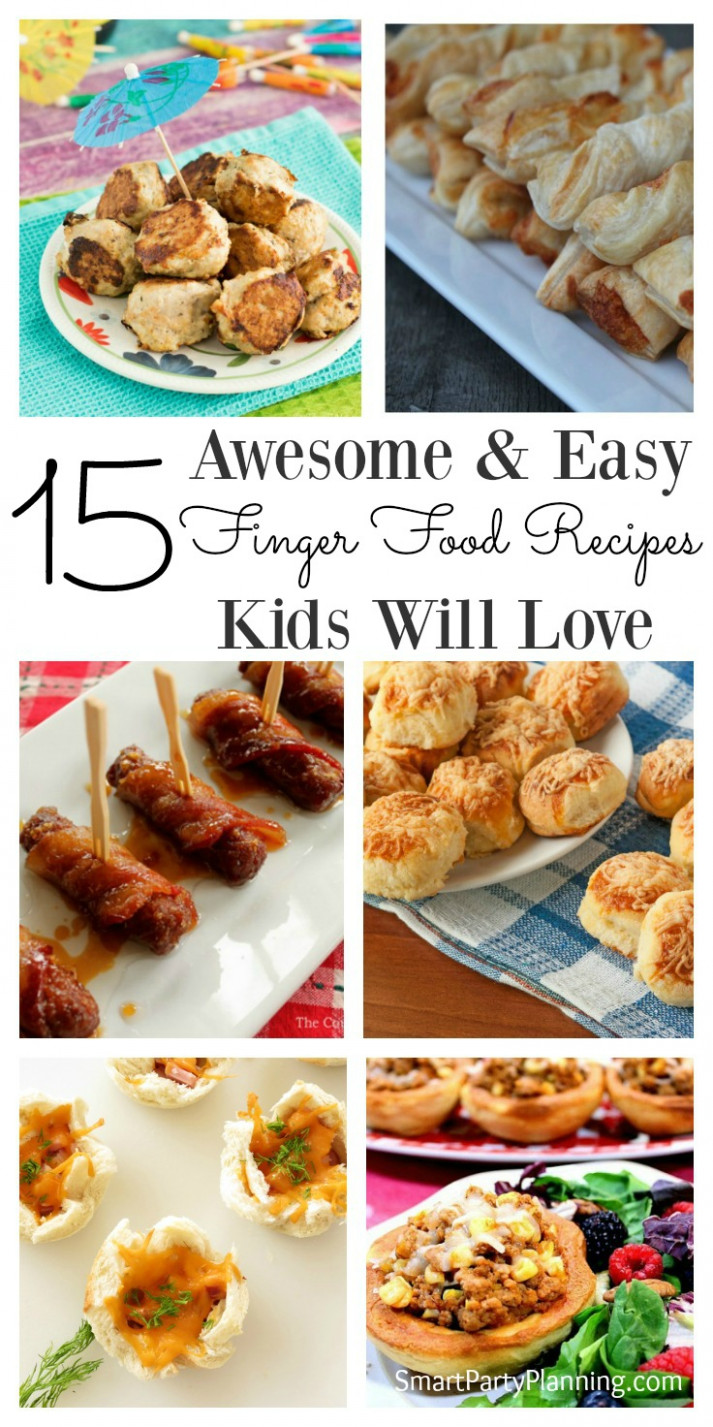 15 Awesome & Easy Finger Food Recipes Kids Will Love - finger food recipes
