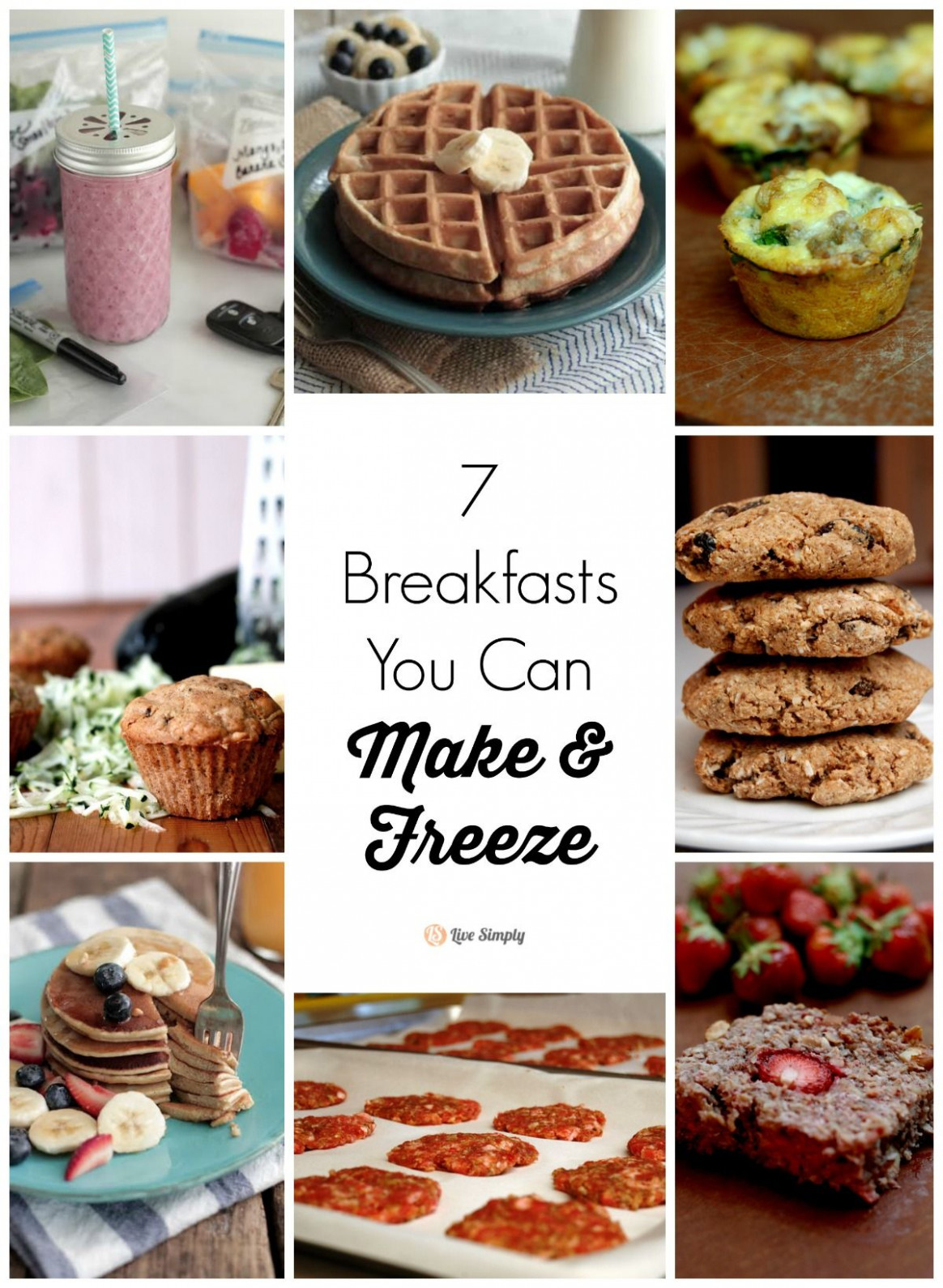 15 Breakfasts You Can Make and Freeze | Real food recipes ..