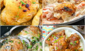 15 Budget Friendly Chicken Thigh Recipes! – Savings Aplenty – Chicken Recipes On A Budget