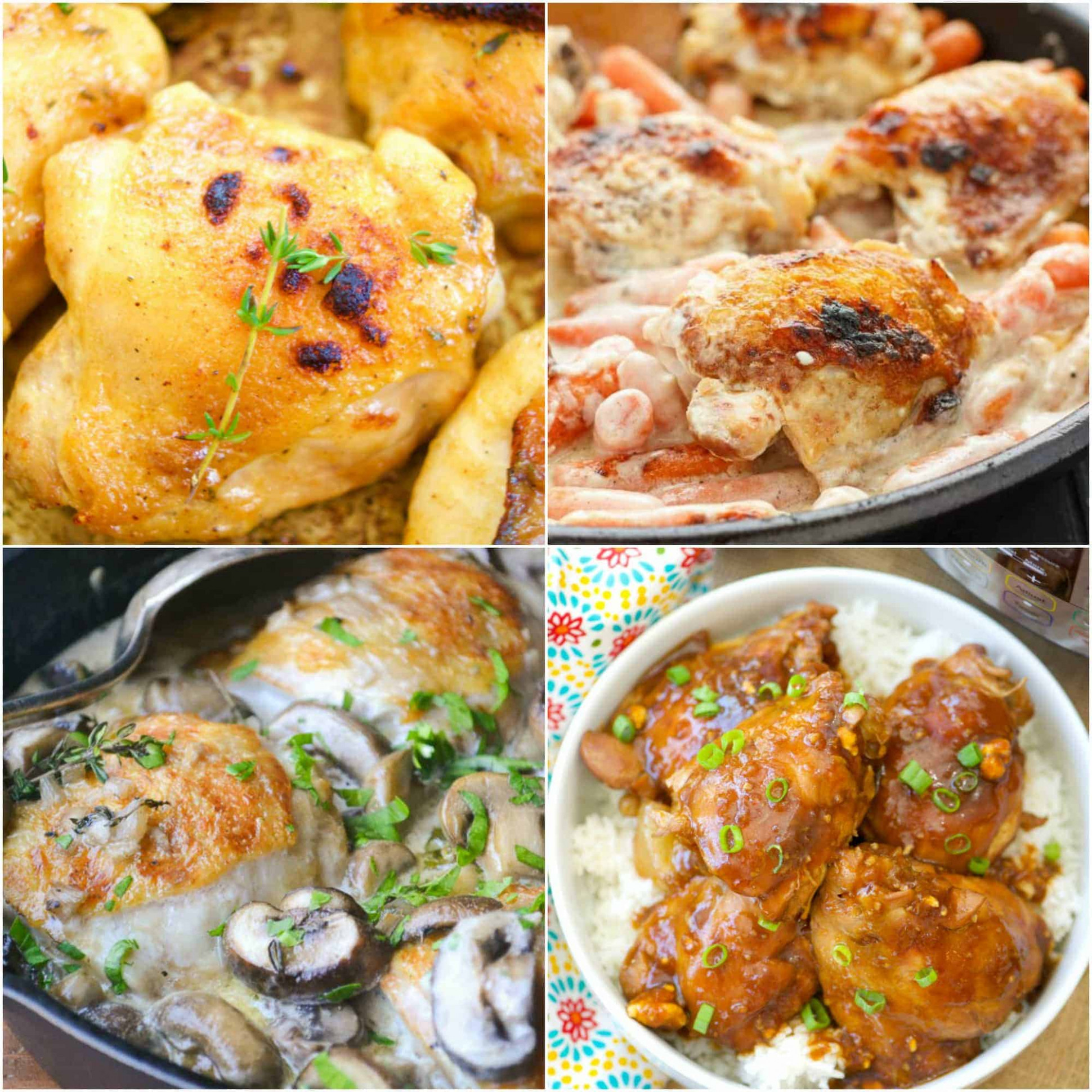 15 Budget Friendly Chicken Thigh Recipes! - Savings Aplenty - chicken recipes on a budget