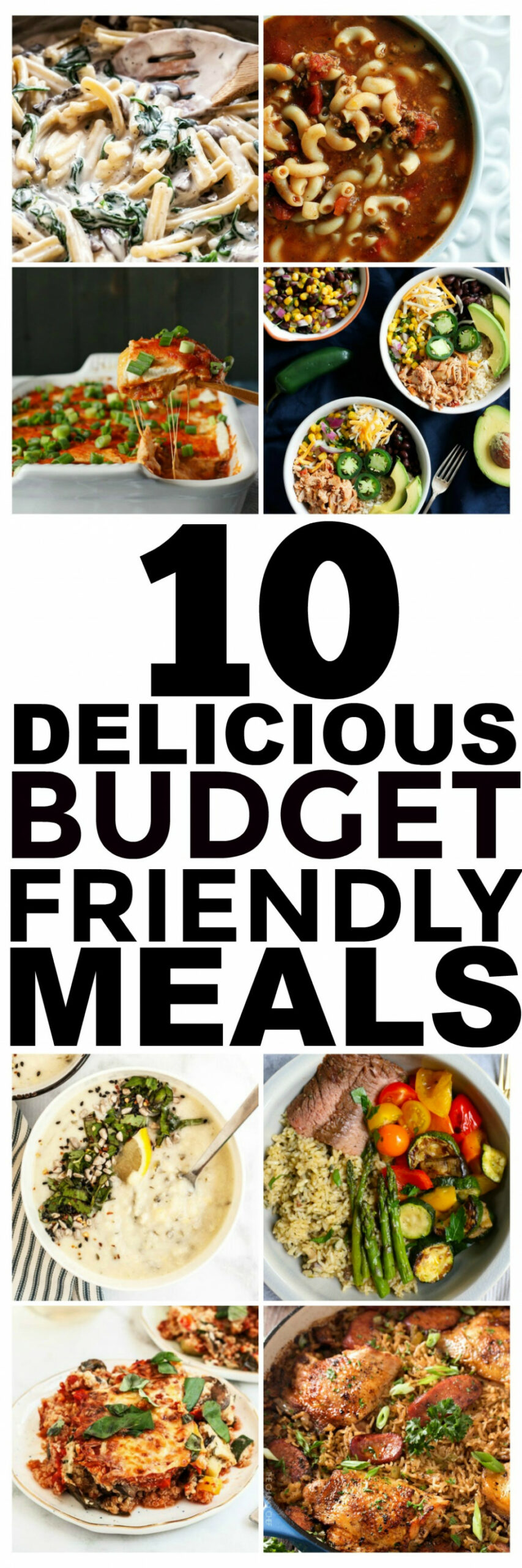 15 Budget Recipes and Cheap Easy Meals You Should Try - recipes healthy budget dinner
