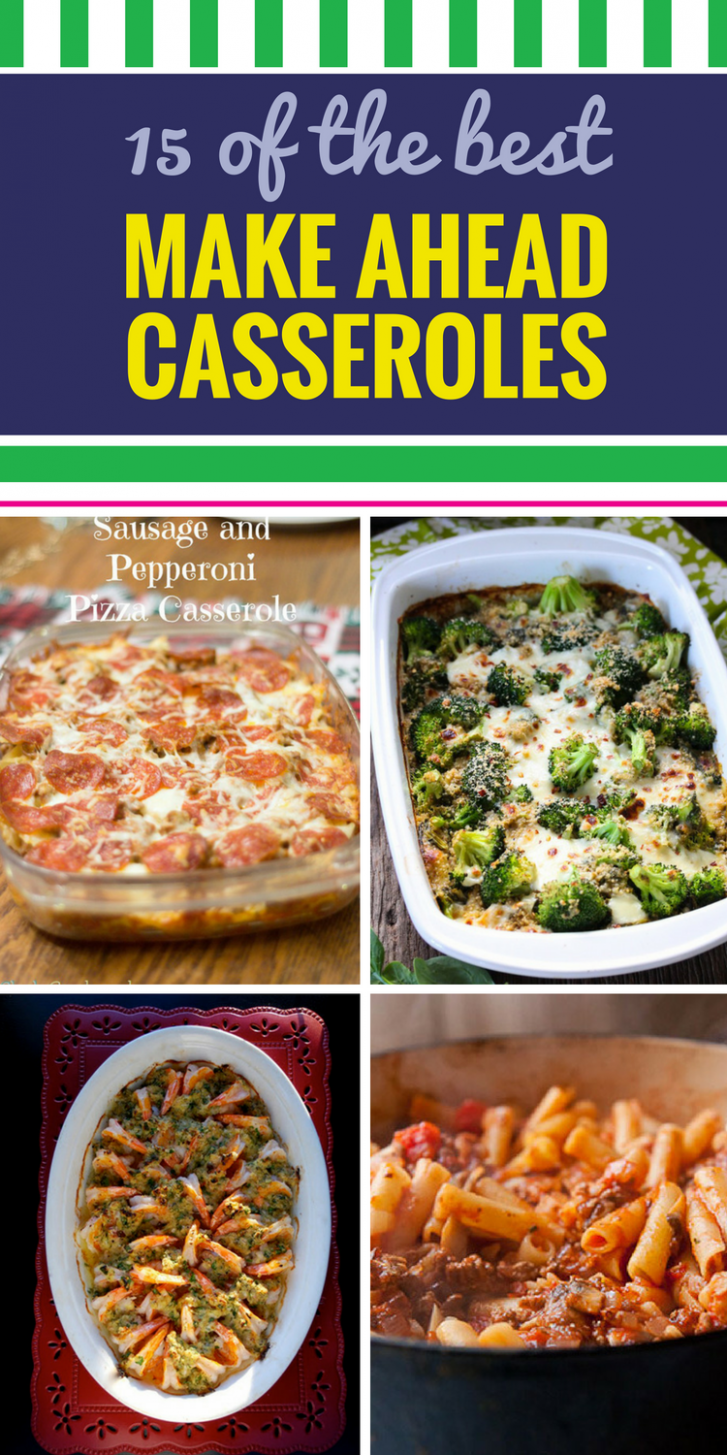 15 Casserole Recipes To Freeze - My Life And Kids - Dinner Recipes You Can Freeze