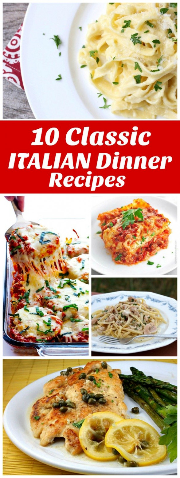 15 Classic Italian Dinner Recipes to Make at Home - recipes to make at home for dinner