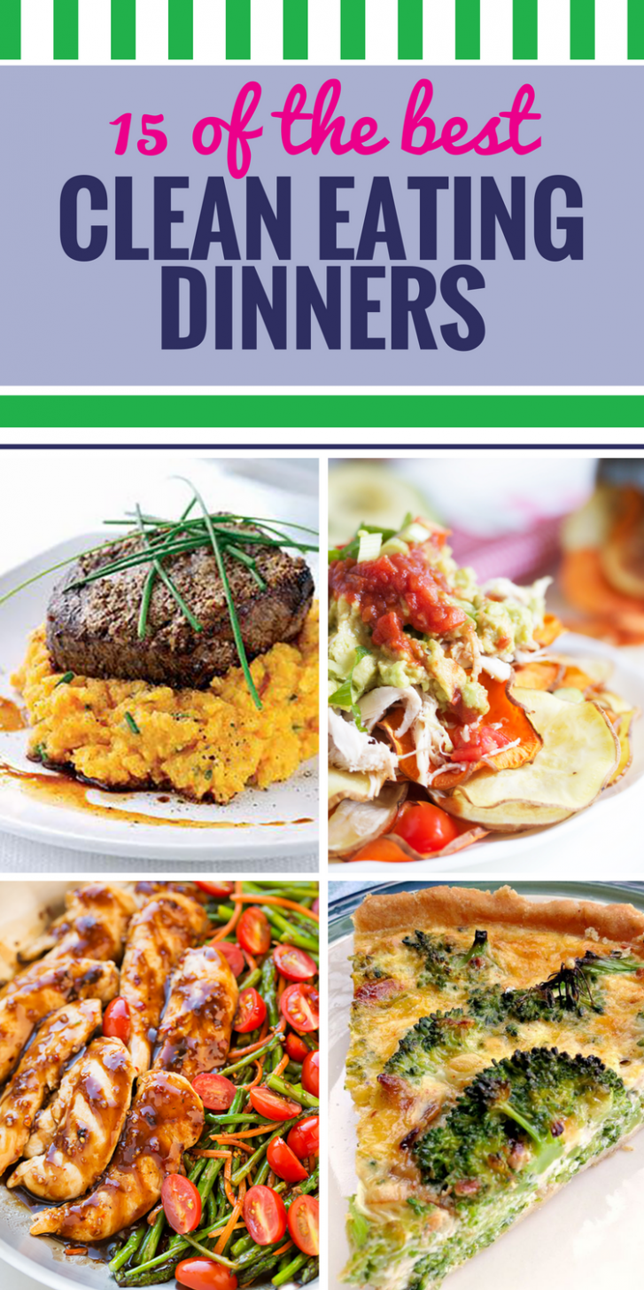 15 Clean Eating Recipes for Dinner - My Life and Kids - clean eating recipes dinner