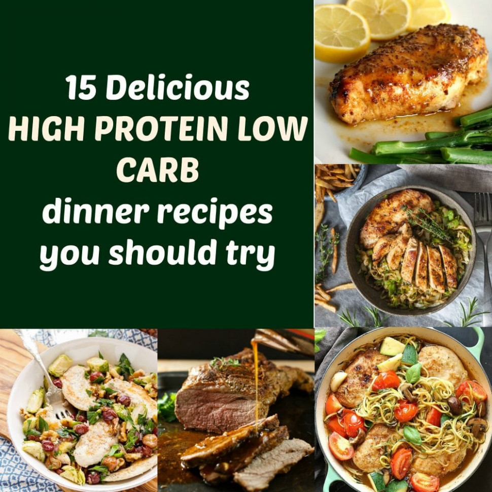 15 Delicious high protein low carb dinner recipes you ..