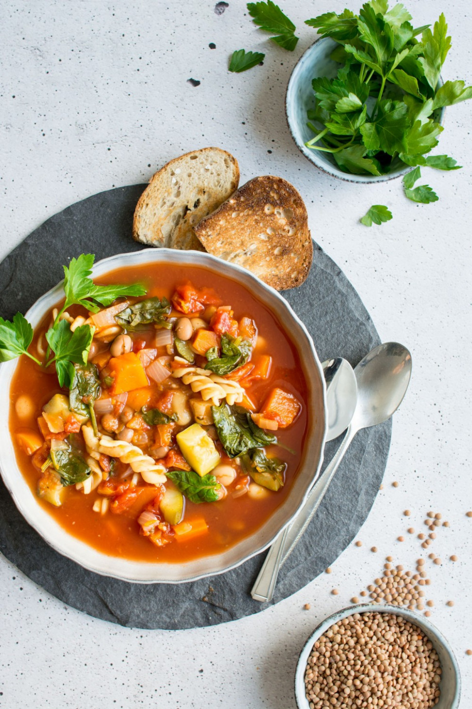 15 Delicious Minestrone Soup Recipes You Need To Try - Winter Soup Recipes Vegetarian