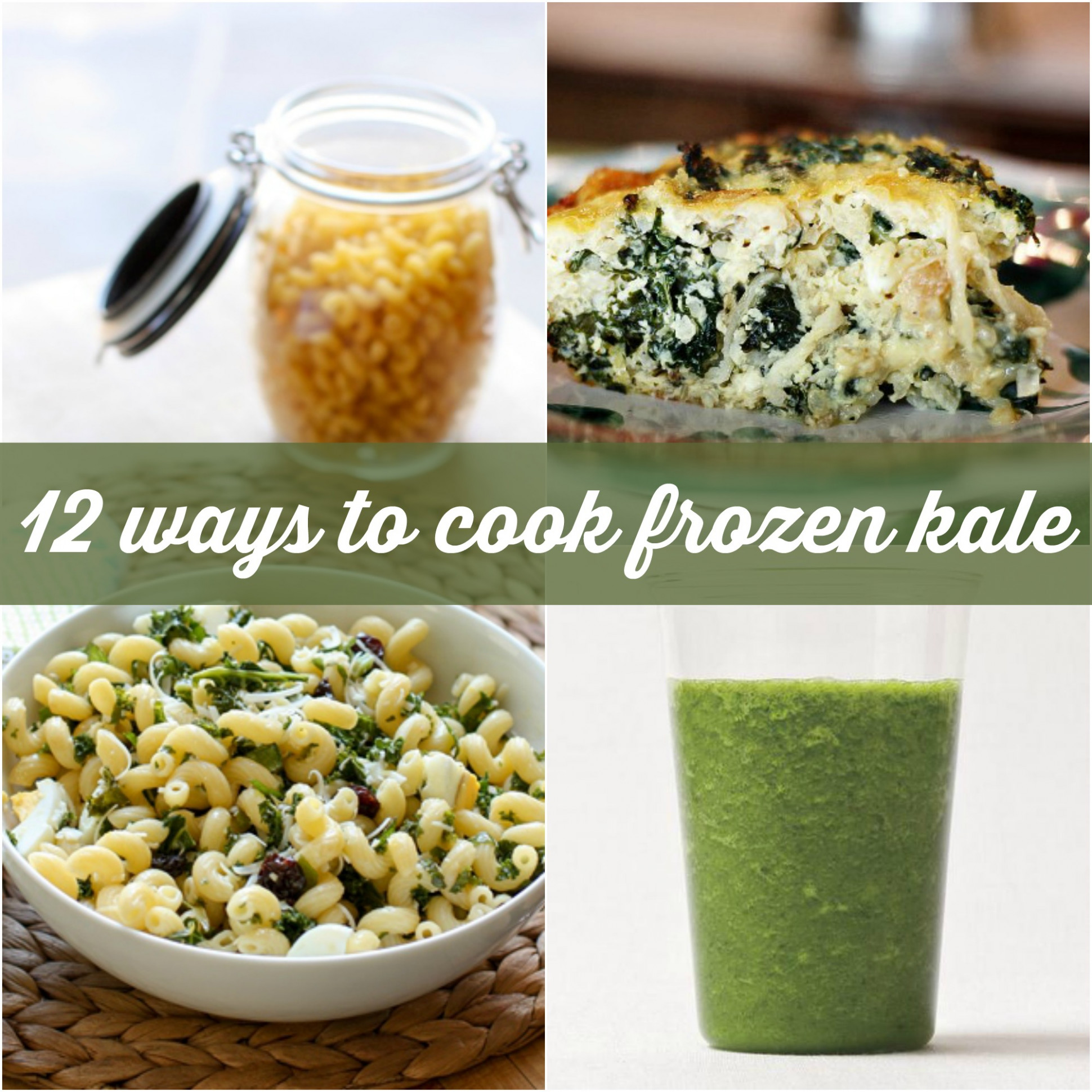 15 Delicious Ways To Cook With Frozen Kale | Food Confidence - dinner recipes kale