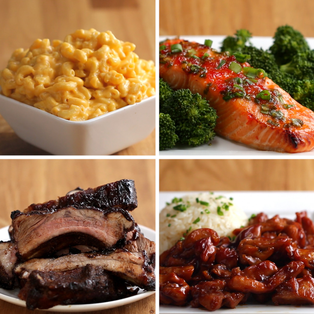 15 Easy 15-Ingredient Dinners | Recipes - easy food recipes