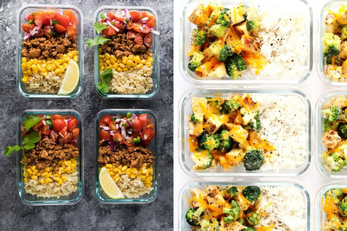 15+ Easy Lunch Meal Prep Ideas - recipes of food easy