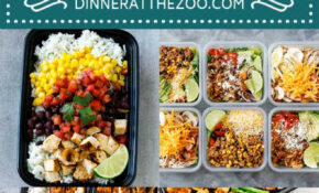 15 Easy Meal Prep Recipes – Dinner At The Zoo – Dinner Recipes Meal Prep