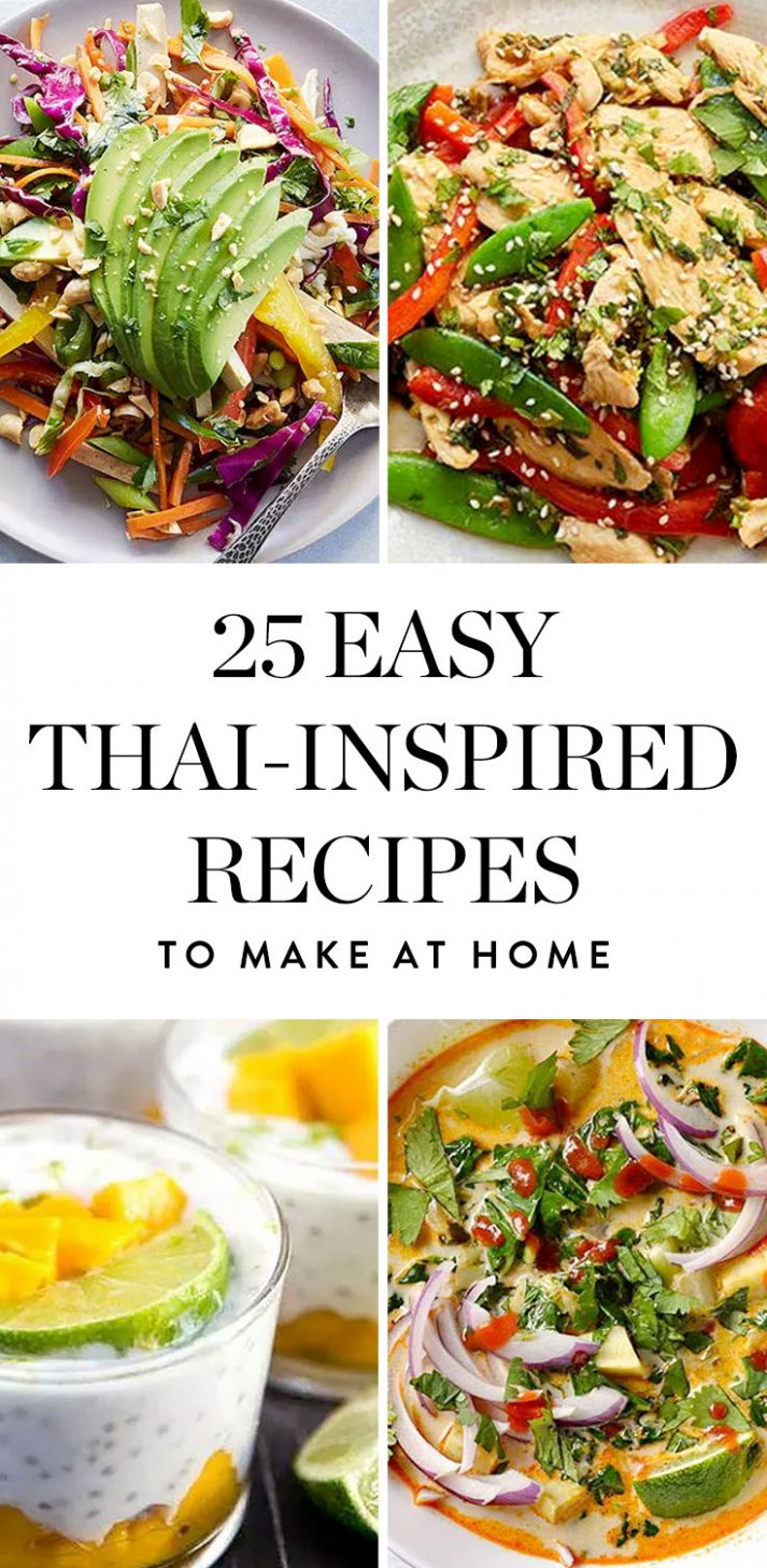 15 Easy Thai-Inspired Recipes You Can Make at Home | EASY ..