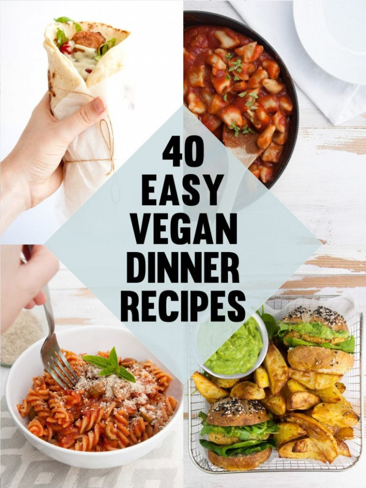 15 Easy Vegan Dinner Recipes | Elephantastic Vegan - recipes veg for dinner