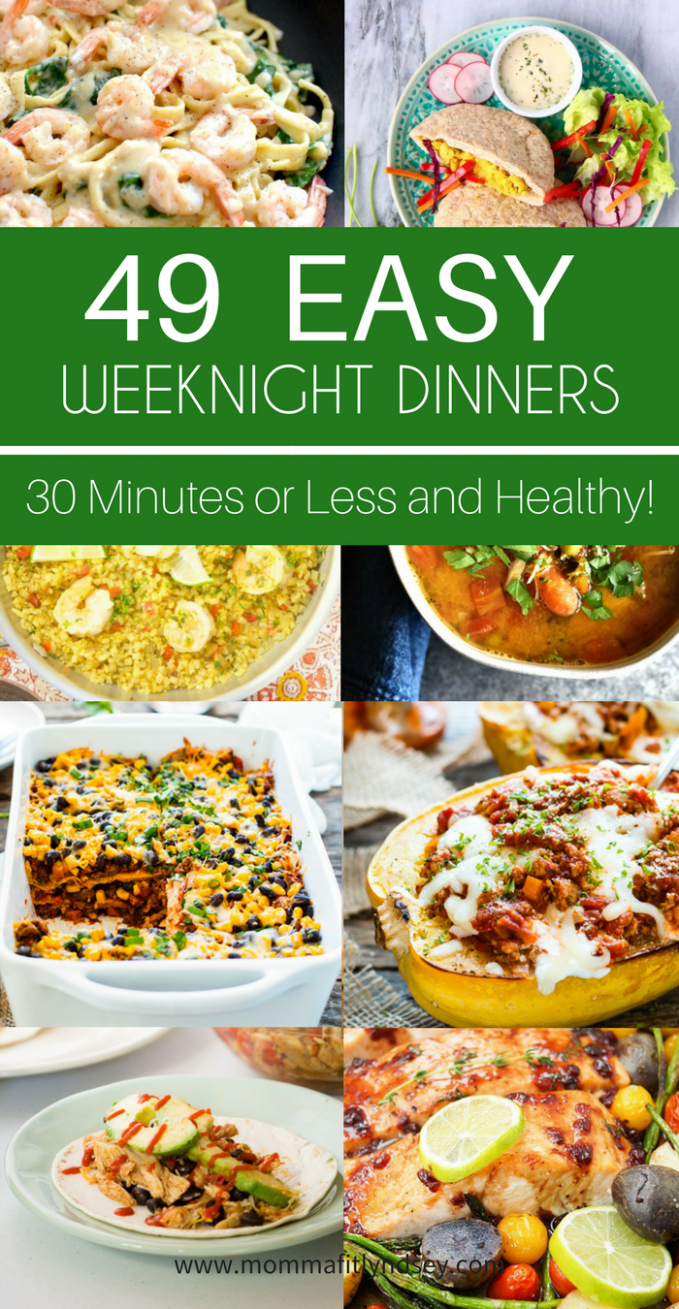 15 Easy Weeknight Dinner Ideas That Are Healthy | Clean ..