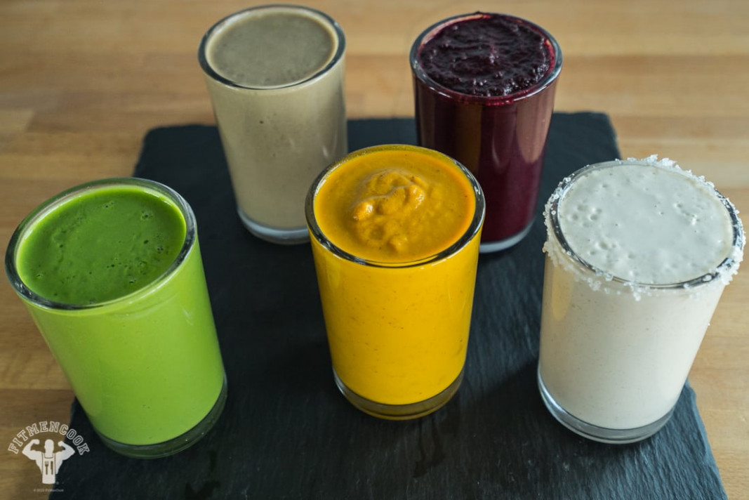 15 Four-Ingredient Smoothie Recipes - Fit Men Cook - recipes of healthy smoothies