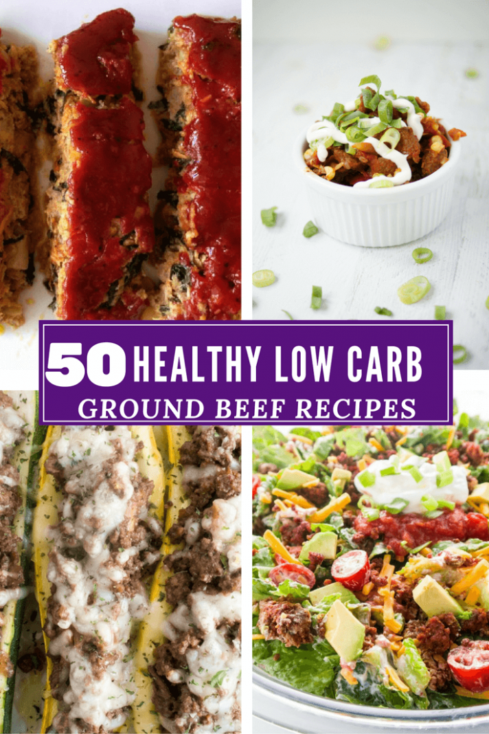 15 Ground Beef Recipes Low Carb and Healthy Recipe Roundup! - ground beef recipes dinner