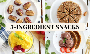 15 Healthy 15 Ingredient Snacks – Recipes For Healthy Snacks