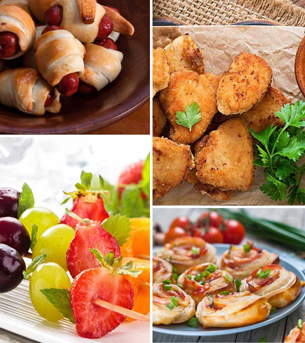 15 Healthy And Easy Finger Foods For Kids - quick and easy party finger food recipes