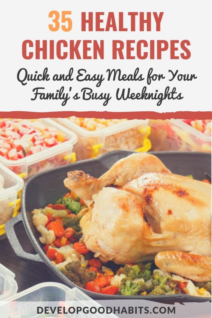 15 Healthy Chicken Recipes: Quick and Easy Meals for Your ..